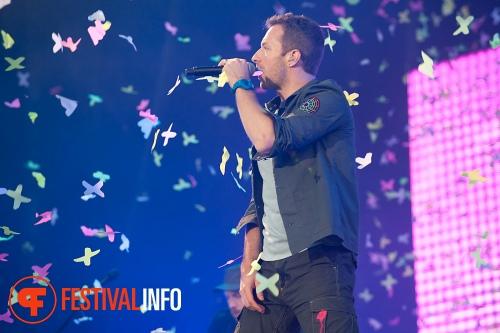 Coldplay op Pinkpop 2011 foto