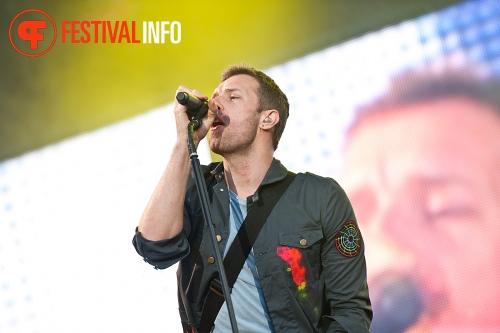 Foto Coldplay op Pinkpop 2011