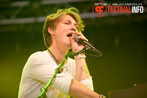 Foto Hanson op Pinkpop 2011
