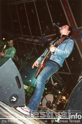 The Peepshows op Paaspop 2002 foto