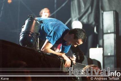Kane op Paaspop 2002 foto