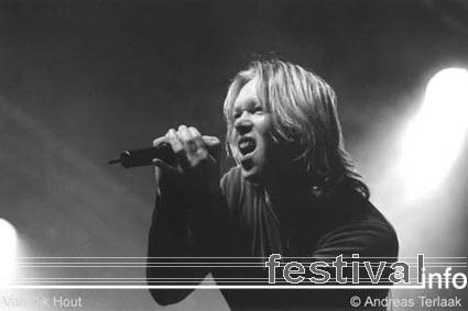Van Dik Hout op Paaspop 2002 foto