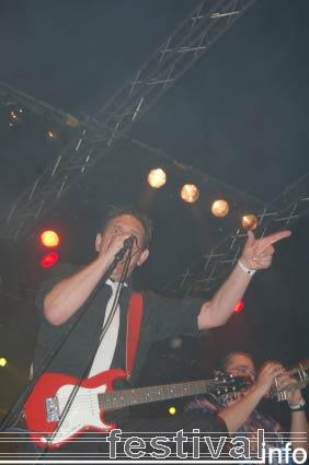 Mark Foggo's Skasters op Paaspop Schijndel 2006 foto