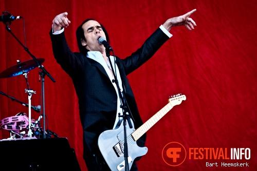 Grinderman op Rock Werchter 2011 foto