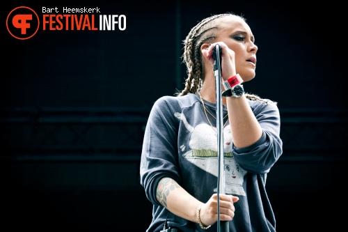 Foto Anouk op Rock Werchter 2011