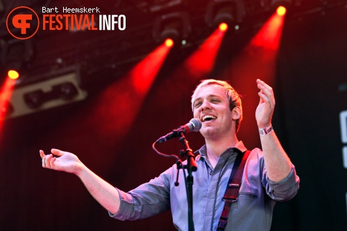 Everything Everything op Rock Werchter 2011 foto