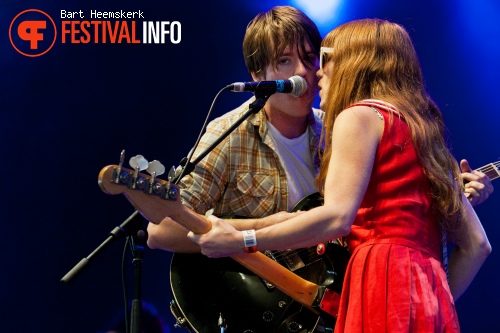 Jenny and Johnny op Rock Werchter 2011 foto