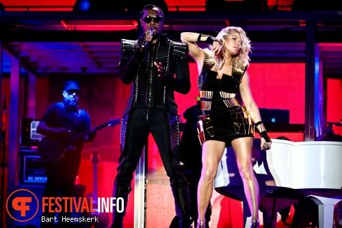 Black Eyed Peas op Rock Werchter 2011 foto