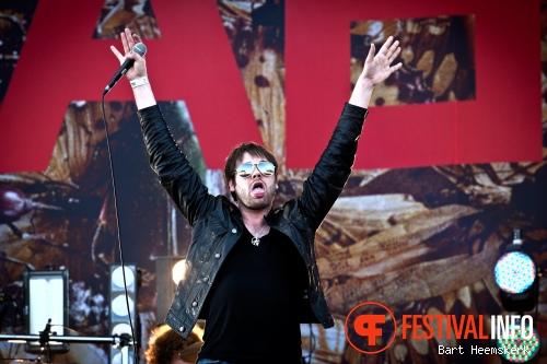 Foto Kaiser Chiefs op Rock Werchter 2011