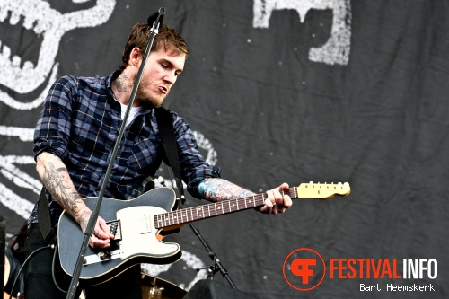 The Gaslight Anthem op Rock Werchter 2011 foto