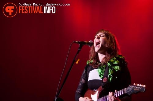 Kate Nash op Open'er Festival 2011 foto