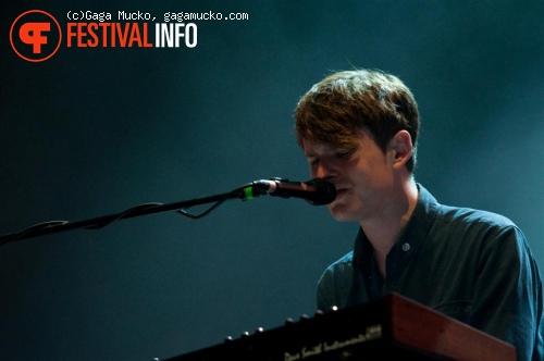 Foto James Blake op Open'er Festival 2011