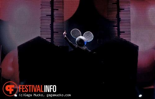 Deadmau5 op Open'er Festival 2011 foto