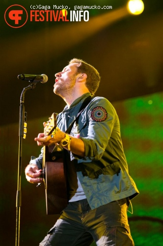 Coldplay op Open'er Festival 2011 foto