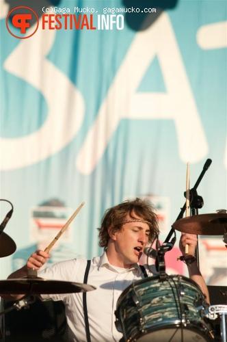 The Wombats op Open'er Festival 2011 foto