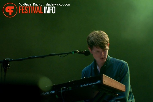 James Blake op Open'er Festival 2011 foto