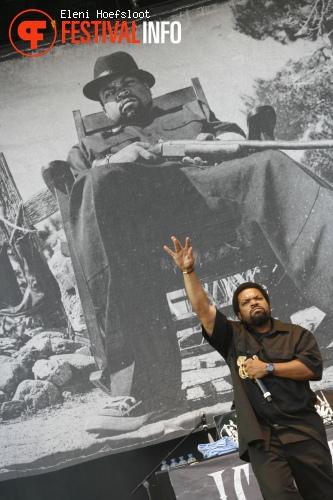 Ice Cube op Dour Festival 2011 foto
