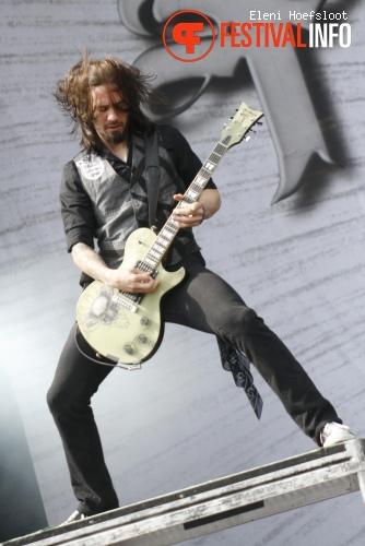 Papa Roach op Dour Festival 2011 foto