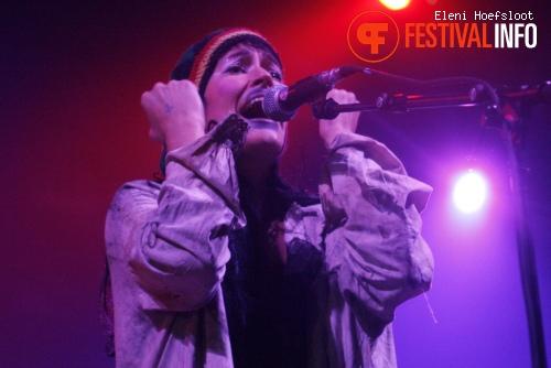 CocoRosie op Dour Festival 2011 foto