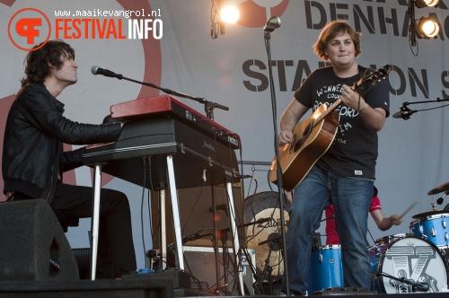 Foto Tim Knol op Parkpop 2011