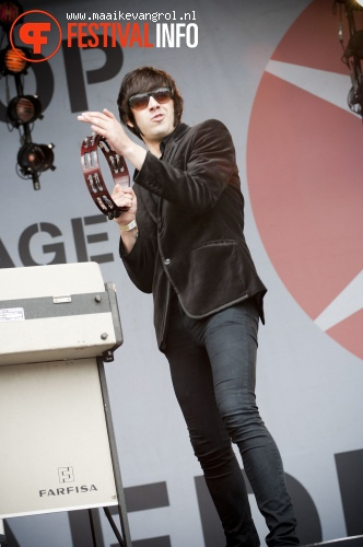 The Deaf op Parkpop 2011 foto