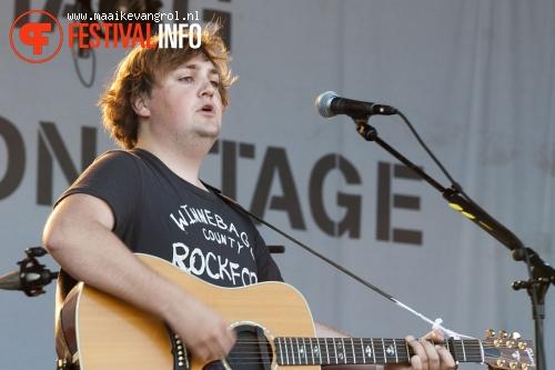 Tim Knol op Parkpop 2011 foto