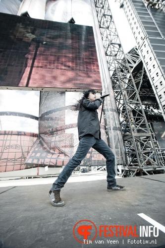 Anthrax op Sonisphere France 2011 foto