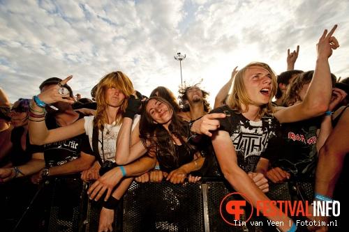 Gojira op Sonisphere France 2011 foto