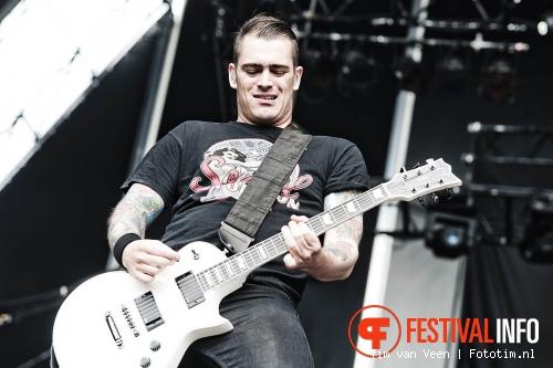 Volbeat op Sonisphere France 2011 foto