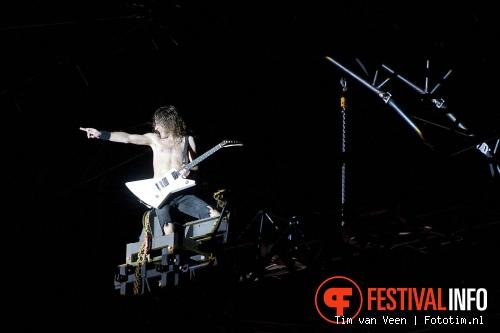 Airbourne op Sonisphere France 2011 foto