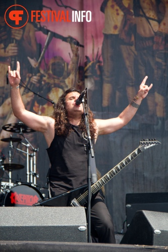 Foto Kreator op Graspop Metal Meeting 2011