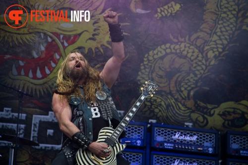 Black Label Society op Graspop Metal Meeting 2011 foto