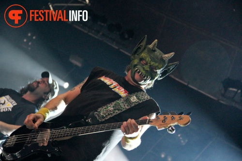Foto D.R.I. op Graspop Metal Meeting 2011