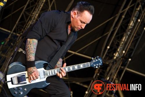 Volbeat op Graspop Metal Meeting 2011 foto