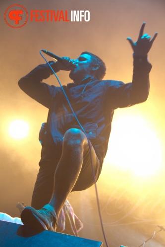 Parkway Drive op Graspop Metal Meeting 2011 foto