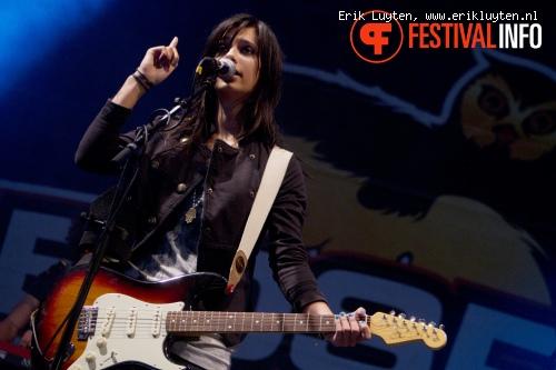 Yasmin op Bospop 2011 foto