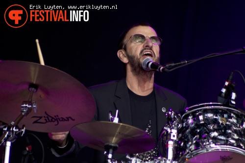 Ringo Starr op Bospop 2011 foto