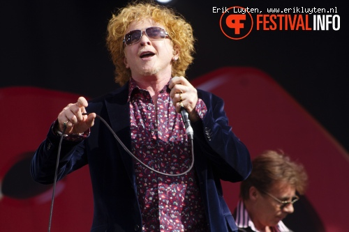 The Faces ft. Mick Hucknall op Bospop 2011 foto