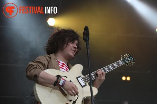 Foto Mark Ronson op Positivus Festival 2011