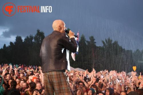 Foto James op Positivus Festival 2011