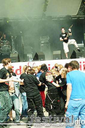 Foto Blind Sight op Bevrijdingsfestival Flevoland 2006