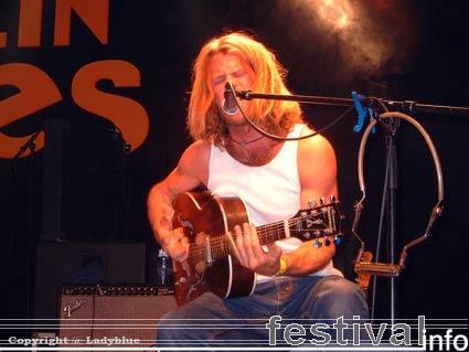 Grayson Capps op Moulin Blues 2006 foto