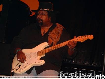 Jimmy D. Lane op Moulin Blues 2006 foto