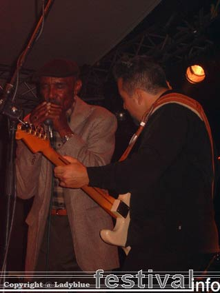Foto The Mannish Boys op Moulin Blues 2006