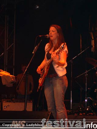 Susan Tedeschi op Moulin Blues 2006 foto