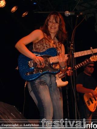 Foto Erja Lyytinen op Moulin Blues 2006