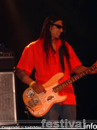 Alvin Young Blood Hart op Moulin Blues 2006 foto