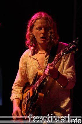 Matt Schofield op Moulin Blues 2006 foto