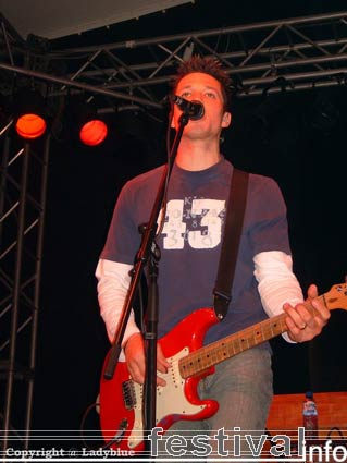 Foto Aynsley Lister op Moulin Blues 2006