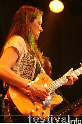Foto Susan Tedeschi op Moulin Blues 2006